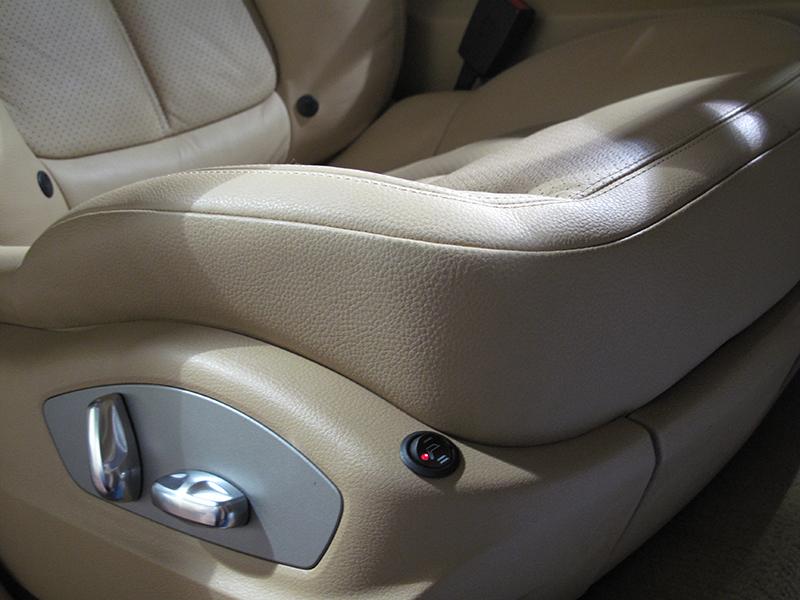 asiento calefactado Porsche Cayenne