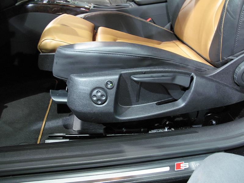 asientos calefactados Audi